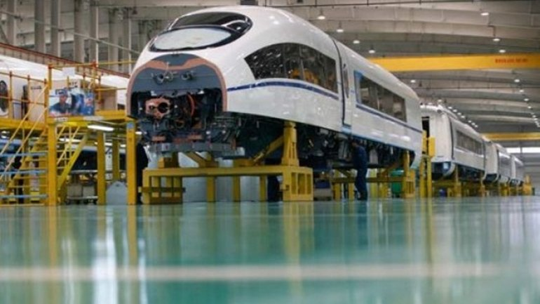 China's train-making giant reveals plans to expand abroad