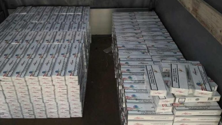 Moldovans arrested at border with Romania for cigarette smuggling