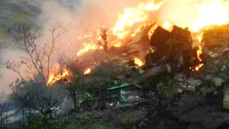 Pakistani plane's crash scene found. 'No survivors likely'
