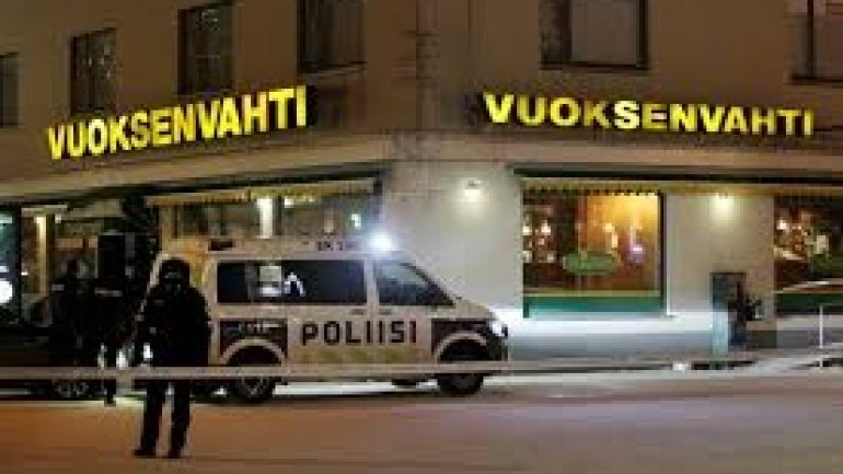 Finland shooting: three women killed outside Imatra restaurant