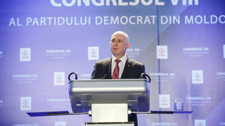 Pavel Filip elected as first vice president of Democratic Party