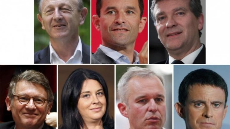 Seven candidates to compete in French left-wing presidential primaries