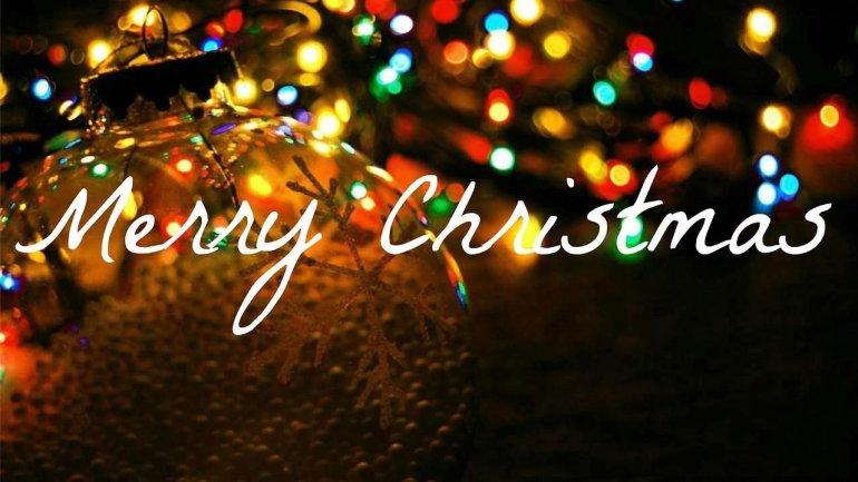 Merry Christmas Christian.Merry Christmas Christians Are Celebrating Birth Of Jesus