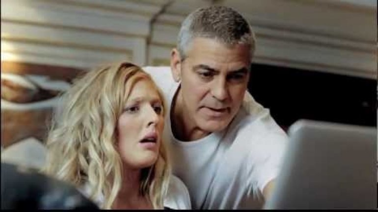George Clooney Married? No, just a cute TV ad for Norvegian Bank (VIDEO)