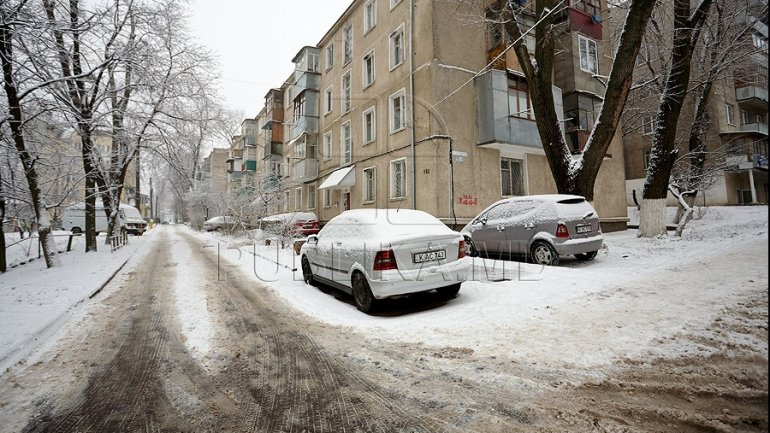 Chisinau City Hall to buy new type of non-skid solution