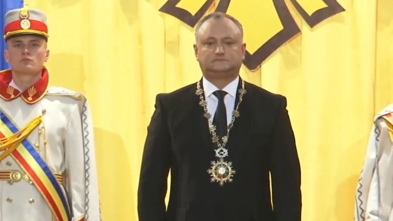 Igor Dodon will wear an object in value of 140,000 lei at special events
