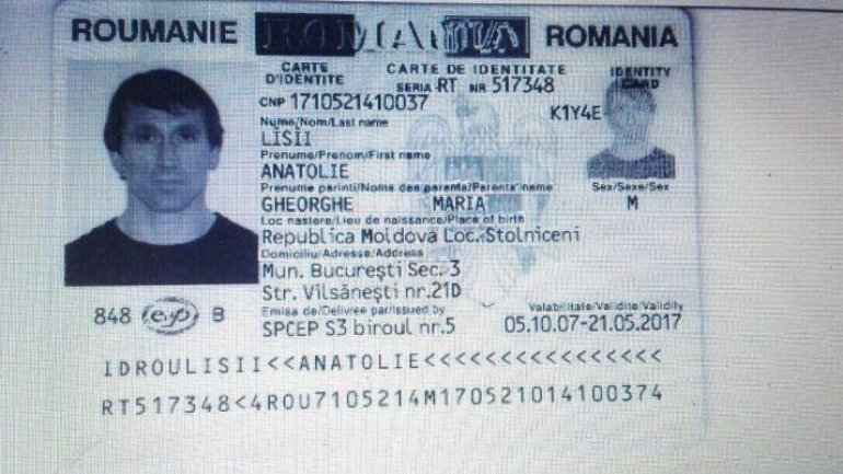 Anatol Stepuleac, lover of lawyer Ana Ursachi, found with double identity