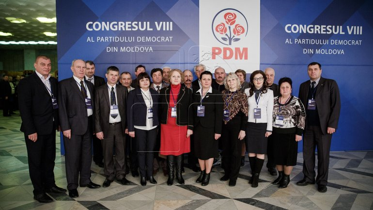 Eighth PDM Congress. Vlad Plahotniuc: We will be a party which drives things to the end