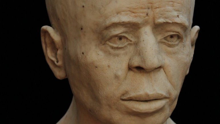 Experts reconstruct face of man who lived 9,500 years in Jericho