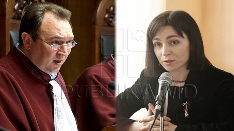 Maia Sandu continues critics against Constitutional Court over validation of presidential election