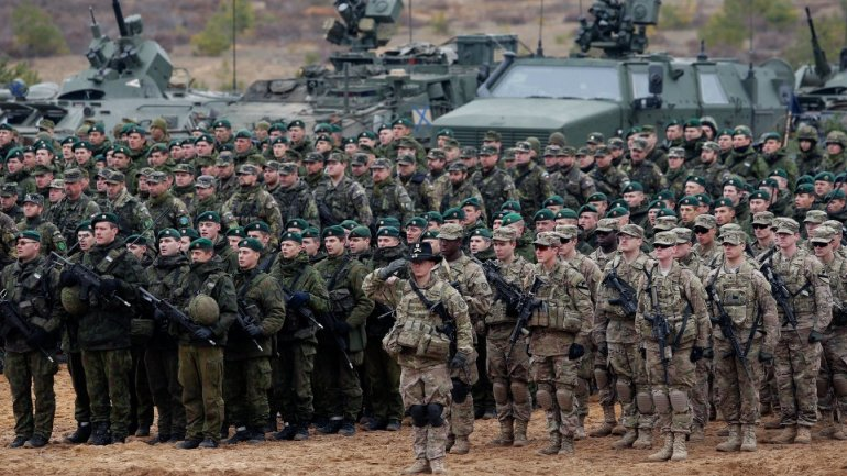 NATO war play in Lithuania is hint to Russia