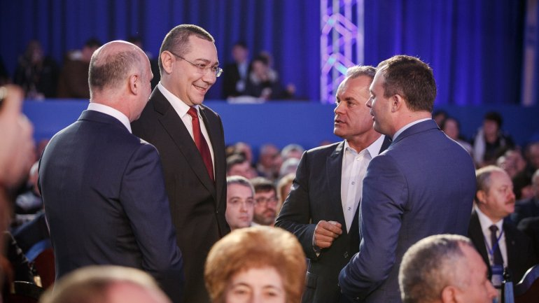 Victor Ponta:PDM must be the only party in Moldova governing for the people