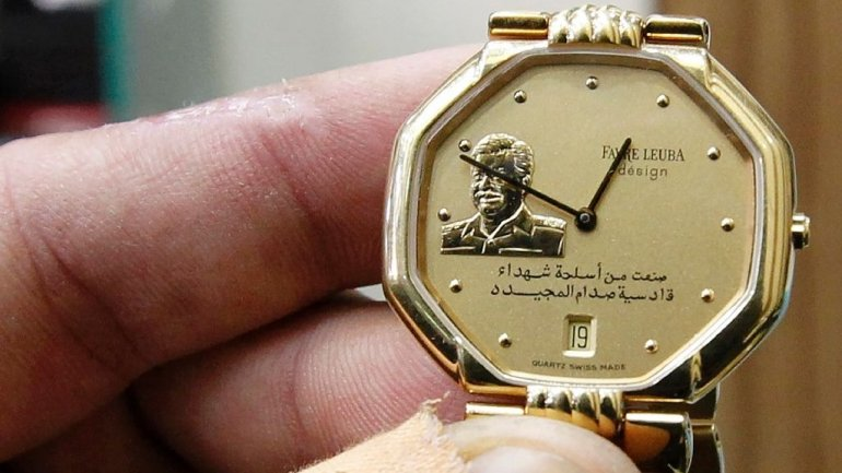 Saddam Hussei still sells well in Baghdad, years after death