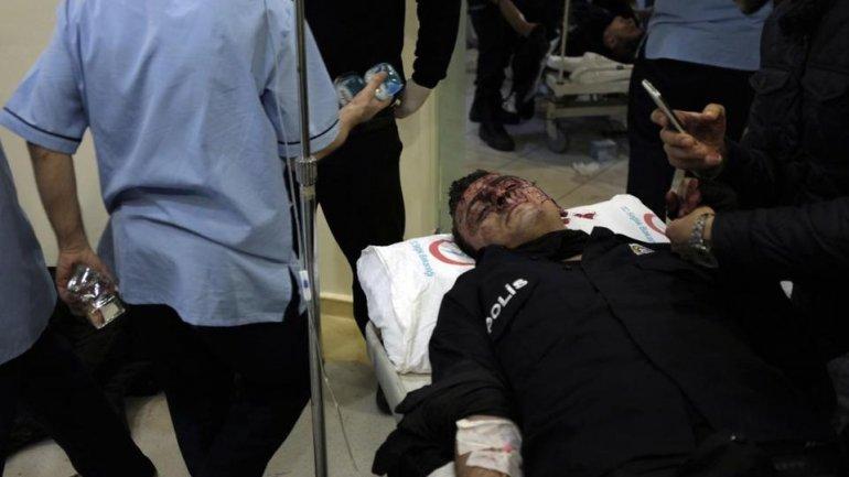 Mourning day in Turkey after blast near stadium kills 29