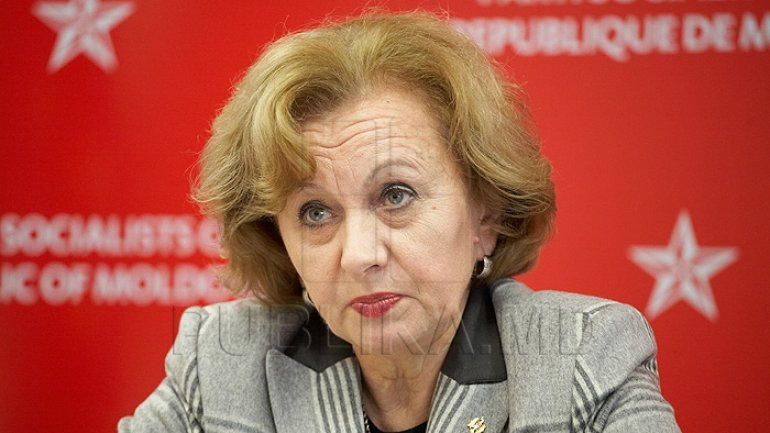 Socialist Party chooses Zinaida Greceanii as president  by unanimous vote