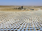 Israel builds world's tallest solar thermal tower in Negev desert (VIDEO)