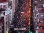 Mass rally calls for end to Spain's dispersion policy for ETA prisoners (VIDEO)