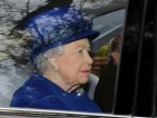Queen Elizabeth II attends church after missing 2 weeks (VIDEO)
