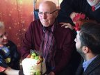 Moldovan humorist and producer Gheorghe Urschi celebrates his birthday (VIDEO)