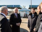 Moldovan prime minister visits one of northern customs posts