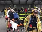 New York train crash: Dozens injured in derailment