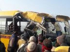India school bus crash kills 15 pupils