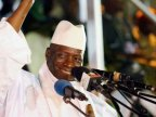 Former president Yahya Jammeh leaves The Gambia after losing election