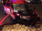 Four persons injured after two cars collided in Chisinau (PHOTO)