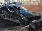 Young revelers smash four cars in horrible accident