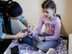 Premiere in Moldova: Children with diabetes receive free devices for blood glucose monitoring