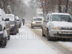 Blizzard hits Moldova. Snow clean up on local and national roads