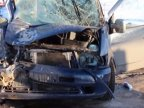 Passenger minibuses clashed in north of Moldova