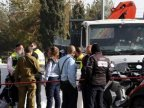 Palestinian kills four by ramming truck into crowd in Jerusalem