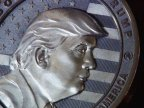 Russian company mints precious coins on Trump's inauguration