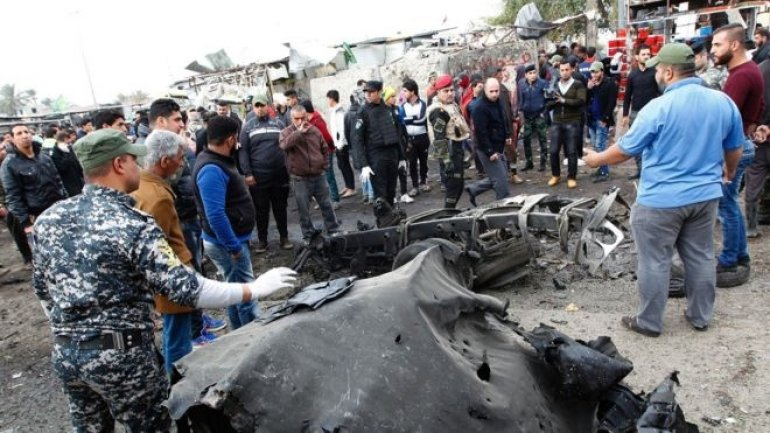 IS conflict: Baghdad suicide car bomb blast kills 35