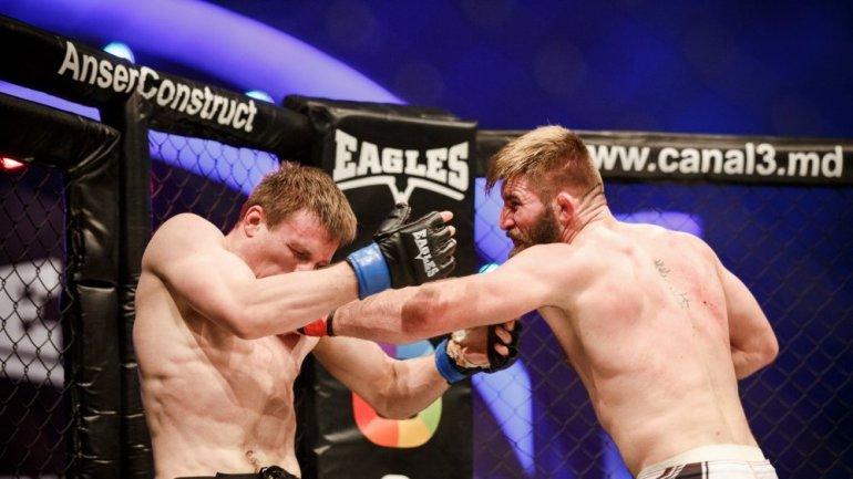 New MMA tournament in Chisinau. Sergiu Barbarosa to fight Vasile Butnaru