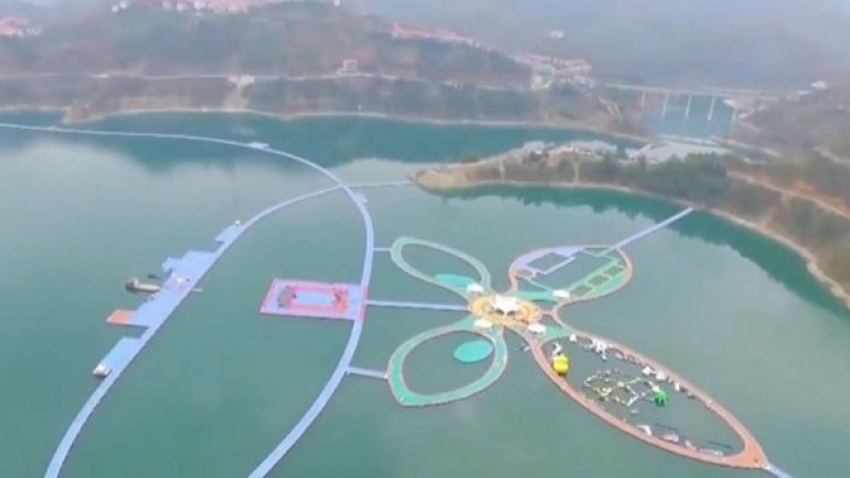 Longest floating path opens in southwest China
