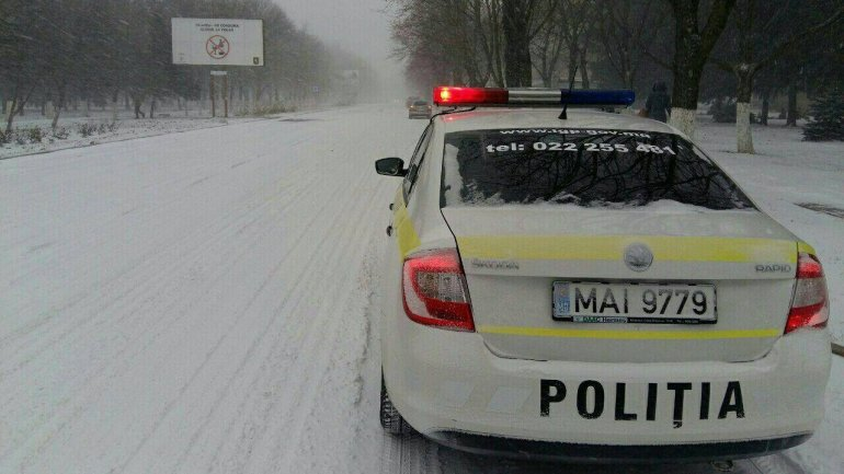 National Inspectorate Patrol says traffic heavy due to snowfall