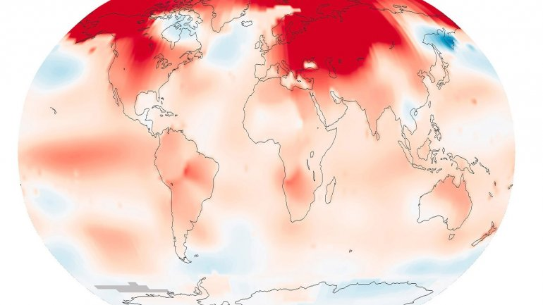 NASA: Global temperature records broken once every three years