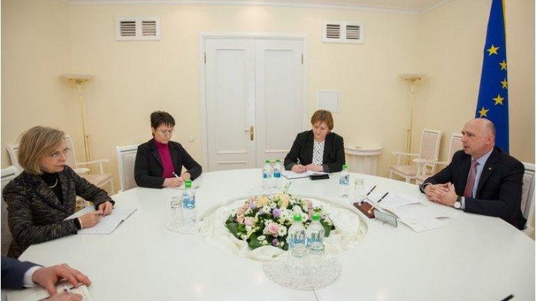 Moldovan Prime Minister meets German ambassador