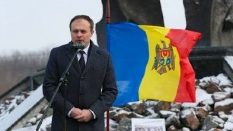 Moldovan Parliament Speaker attends meeting to commemorate Holocaust victims