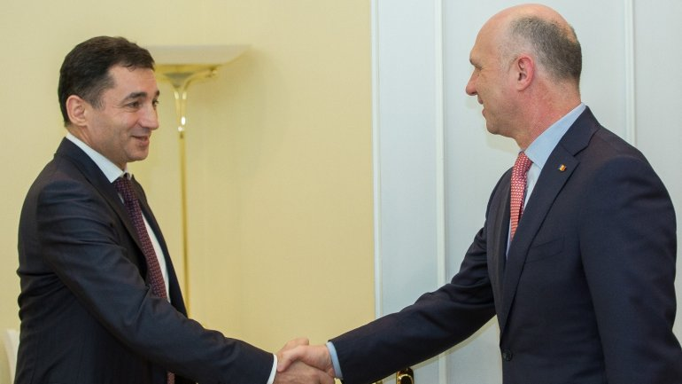 Prime Minister Pavel Filip held meeting with Ambassador of Azerbaijan to Moldova (PHOTO)