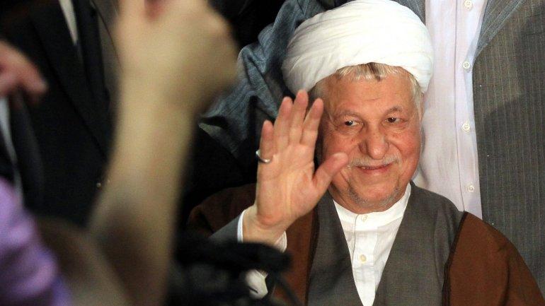 Former Iranian president Ali Rafsanjani dies aged 82