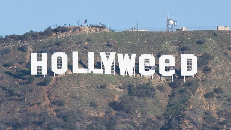 "Hollywood sign vandalized to read ""Hollyweed"" (VIDEO/PHOTO)"