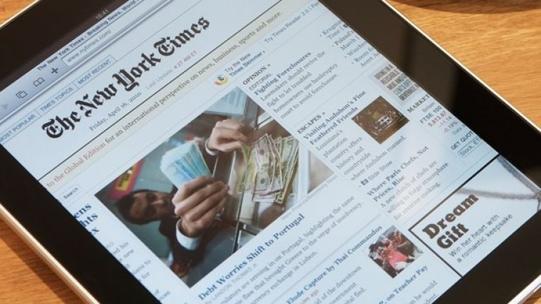 Apple removes New York Times app in China