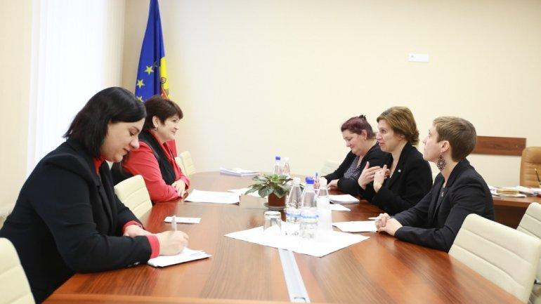 Valentina Buliga held meeting with Ambassador of Sweden to Chisinau, Signe Burgstaller