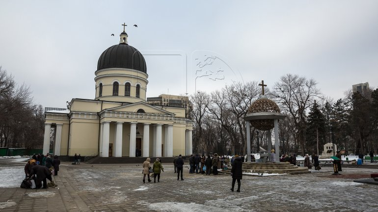The feast of Epiphany Eve celebrated by Orthodox Christians (PHOTOREPORT)