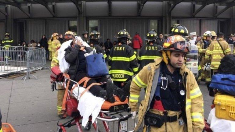 New York train crash: Dozens injured in derailment