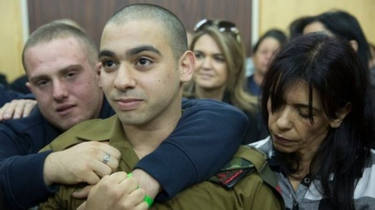 Israel police arrest two over threats to judges in Elor Azaria case