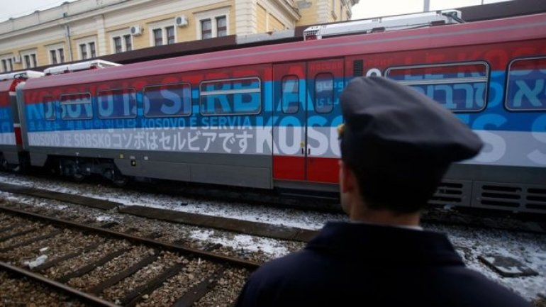 Serbian train sparks escalation in tensions with Kosovo